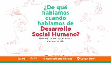 Conversatorio sobre Desarrollo Social Humano