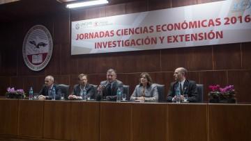 Con elevada concurrencia se inauguraron las Jornadas de Ciencias Económicas 2016
