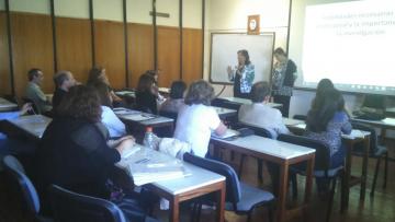Se realizó el primer encuentro de las Jornadas de Capacitación Docente: Incorporando la investigación a las habilidades curriculares