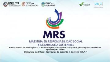 Maestría en Responsabilidad Social y Desarrollo Sostenible (MRS)