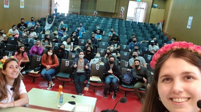 La FCE organizó la Ambientación Universitaria de forma presencial